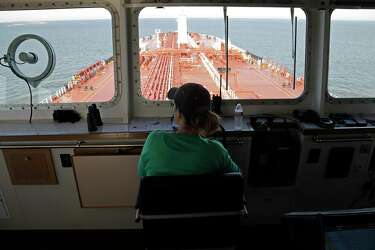 Ship Channel pilot encourages kids to follow in her wake