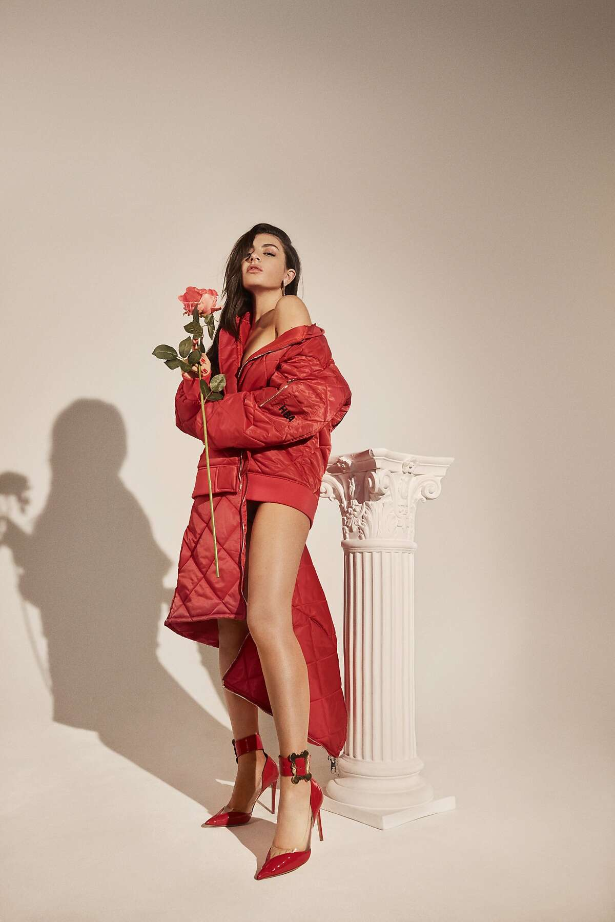 """Charli XCX's latest mixtape, """"Number 1 Angel,"""" dropped March 10, 2017. She kicks off a supporting tour at San Francisco's Rickshaw Stop on April 2, 2017."""