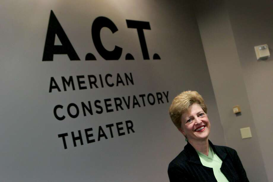 Carey Perloff, artistic director of the American Conservatory Theater, is pictured in the hallway outside her office, Monday, Feb. 23, 2015, in San Francisco, Calif. Photo: Santiago Mejia, The Chronicle