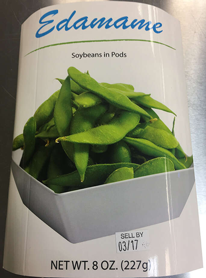 The recalled edamame product fromAdvanced Fresh Concepts Franchise Corp. Photo: Courtesy Of FDA