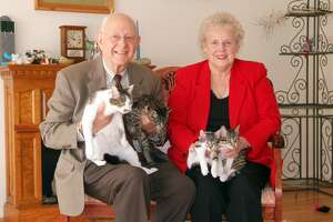 Duane Kraemer and his wife Shirley adopted CC, the first ever cloned cat 15 years ago