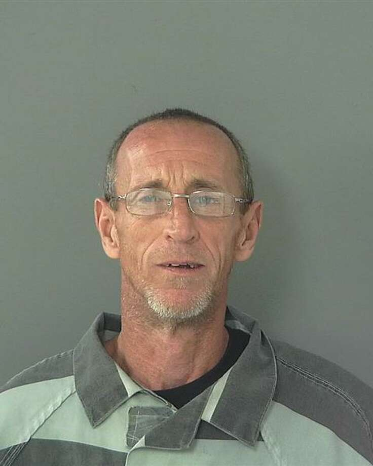 David Lynn Matlock of Conroe is wanted by the Montgomery County Sheriff's Office on a charge of theft of material.His warrant is active as of Thursday. Photo: Montgomery County Sheriff's Office