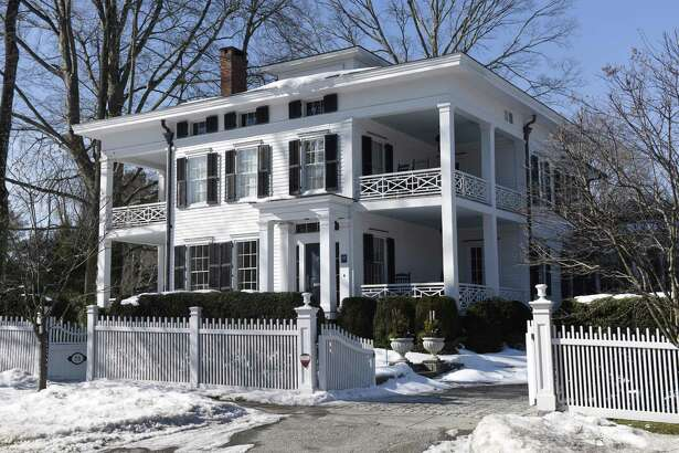 The home at 73 North St. in Greenwich, Conn., photographed on Thursday, Feb. 16, 2017.