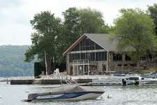The Candlewood Isle clubhouse and marina on Candlewood Lake in New Fairfield is shown Tuesday, July 13, 2010.