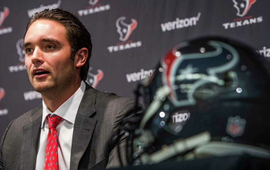 It seems like only a year ago that the Texans signed quarterback Brock Osweiler. Oh, wait. It was only a year ago. Nevermind. Photo: Brett Coomer Brett Coomer, Staff / © 2016 Houston Chronicle