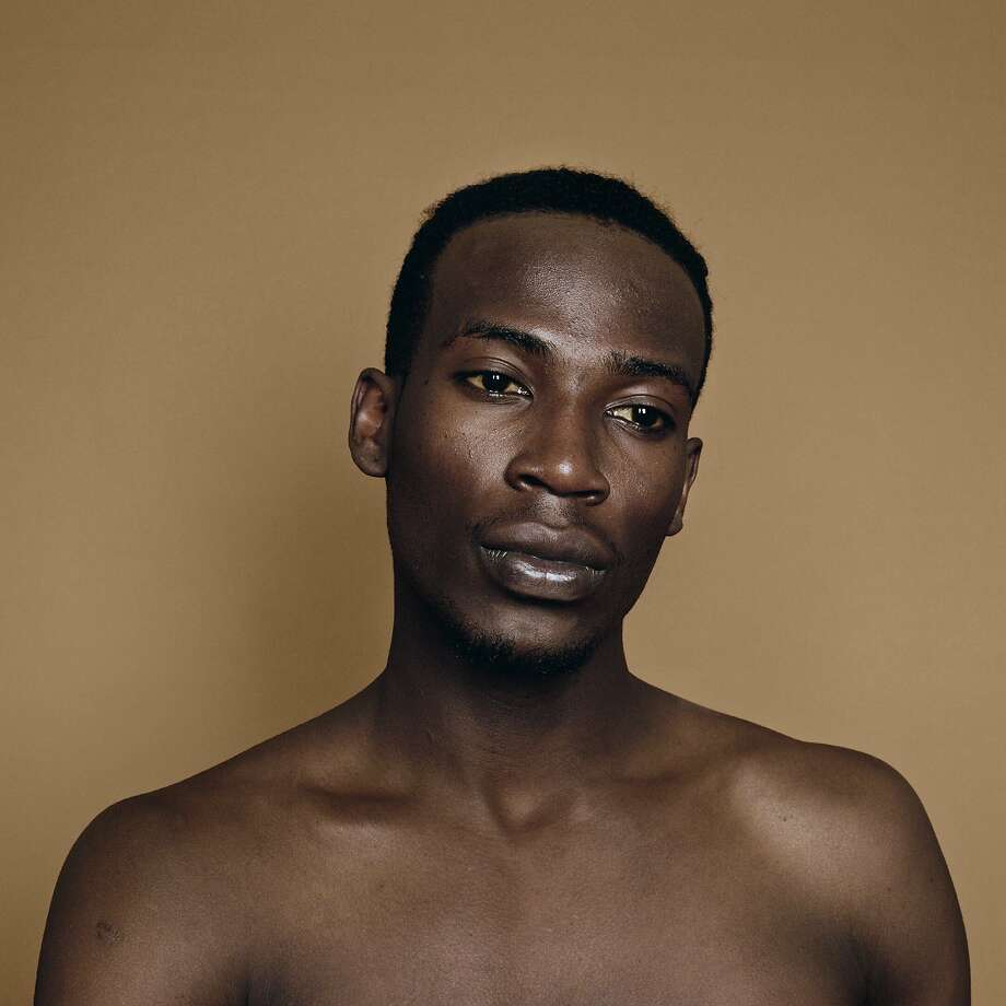 """Erica Deeman's portraits, including """"Asaba"""" (2015), left, and """"Llane"""" (2016), are part of the series """"Brown."""" Photo: Anthony Meier Fine Arts"""