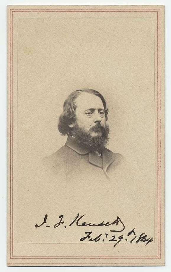 John Frederick Kensett, 1864 Photo: Darien News / Contributed Photo / Darien News