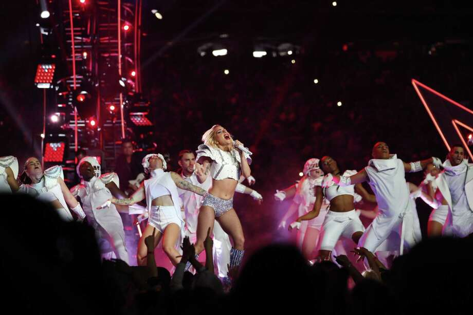 The Coachella music festival announced in late February that Lady Gaga, seen here performing at the Super Bowl in Houston Feb. 5, would perform instead of Beyonce on the second night of its three-day event in Indio, Calif. in April. Beyonce is pregnant with twins. Photo: Doug Mills /NYT / NYTNS