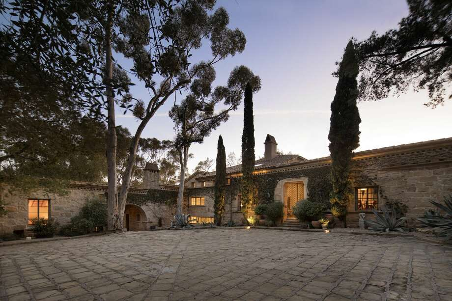 Ellen DeGeneres And Portia De Rossi are selling their Montecito, Calif., villa for $45 million. The property is listed with Sotheby's International Realty. Photo:  Jim Bartsch
