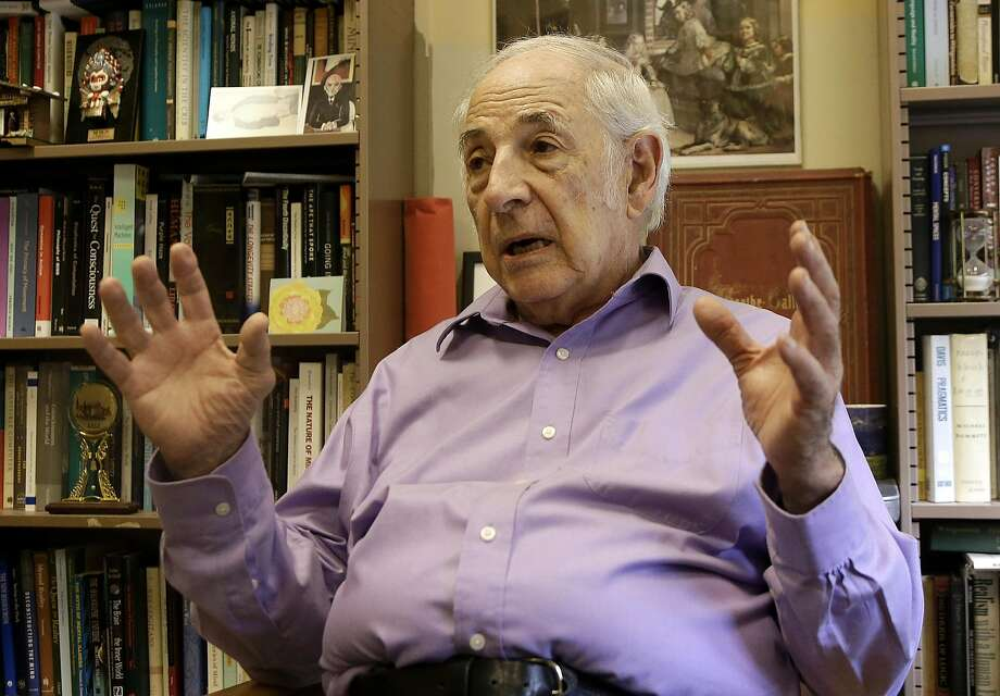 John Searle began teaching at UC Berkeley in 1959. He is now emeritus professor of philosophy of language and of the mind. Photo: Jeff Chiu, AP