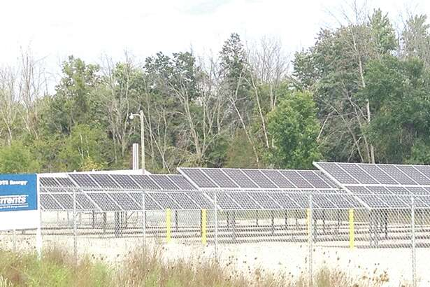 The only commercial solar farm in Tuscola County is on East Dayton Road, Caro, and it is jointly owned by DTE Energy and Thumb Electric Company, which is a co-op owned by over 12,000 members in Huron, Sanilac and Tuscola counties.