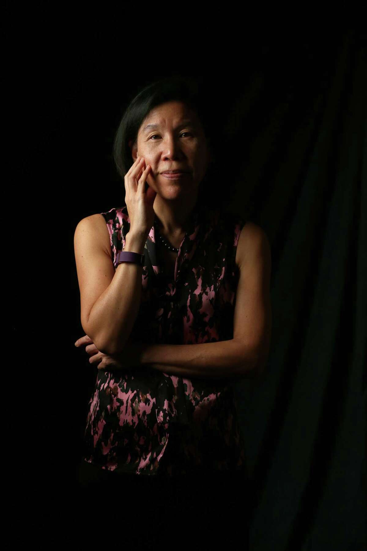 Dr. Vivian Ho poses for a photo at Rice University Friday, Oct. 7, 2016, in Houston. (Yi-Chin Lee / Houston Chronicle )