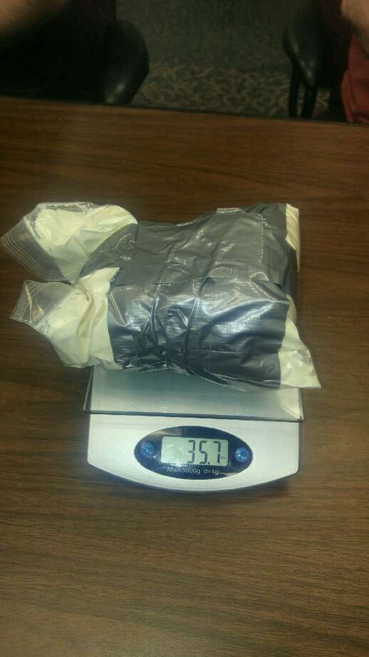 Packages shipped from overseas to a Port Neches residence believed to contain synthetic drugs. Photo: Jefferson County Sheriff's Office