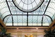 The Palm Court Bar at the Plaza in New York City.