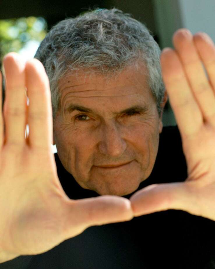 Acclaimed French filmmaker Claude Lelouch will appear at several events during the Alliance Française of Greenwich's Focus on French Cinema festival, March 27 to April 4. Photo: Contributed Photo