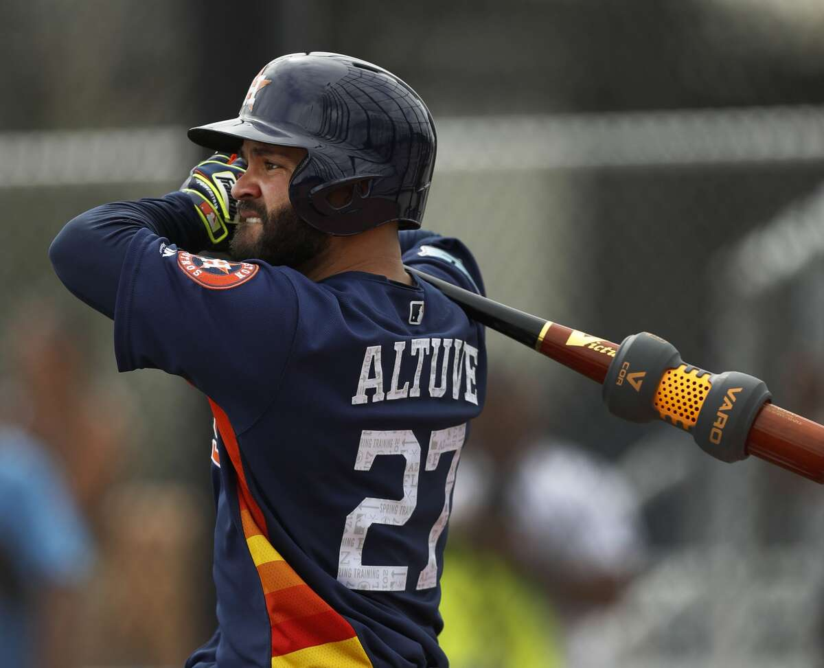 3. Jose Altuve (RH), 2B The third-place finisher in last year's AL MVP voting will be back in the run producing role he operated out of from June 10 through the end of last season.