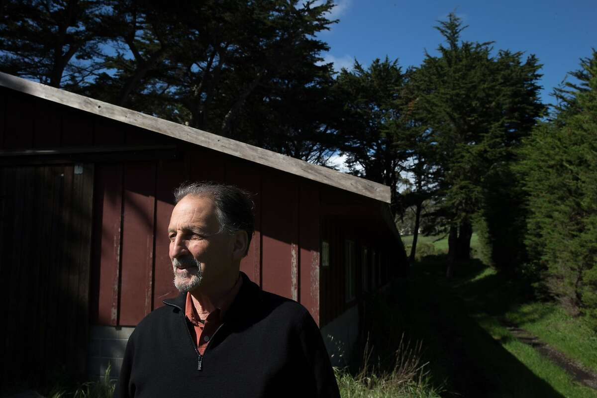Bill Niman at his ranch on Wednesday, March 22, 2017, in Bolinas, Calif. Niman, founder of Niman Ranch, has sold his grass-fed beef company, BN Ranch, to meal kit delivery company Blue Apron. Niman will retain the title of president and founder of BN Ranch within Blue Apron.