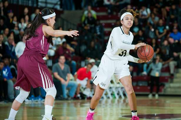 Karisma Ortiz, a 6-foot junior, does a little bit of everything for Mitty. She's averaging 9.4 points, 5 rebounds, 4.5 assists, 1.4 steals and 0.7 blocks per game. Mitty plays Clovis West on Saturday for the Open Division state championship.