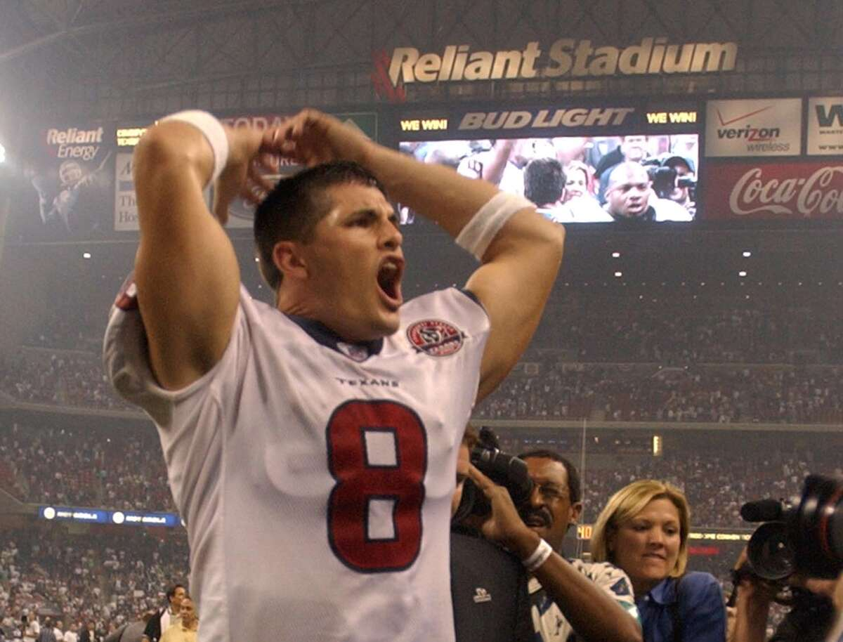 David Carr and the Texans started their time in the NFL with a stunning victory over the Cowboys in their inaugural game in 2002. As they enter their 20th season, they've seen their ups and downs - with more of the latter - as they still look to make it past the second round of the playoffs.