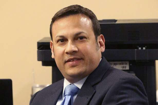 San Antonio attorney Mark Benvides sits in the 186th District Court Thursday March 23, 2017. The San Antonio attorney is accused of coercing clients into having sex with him in exchange for money or legal services and videotaping the encounters.