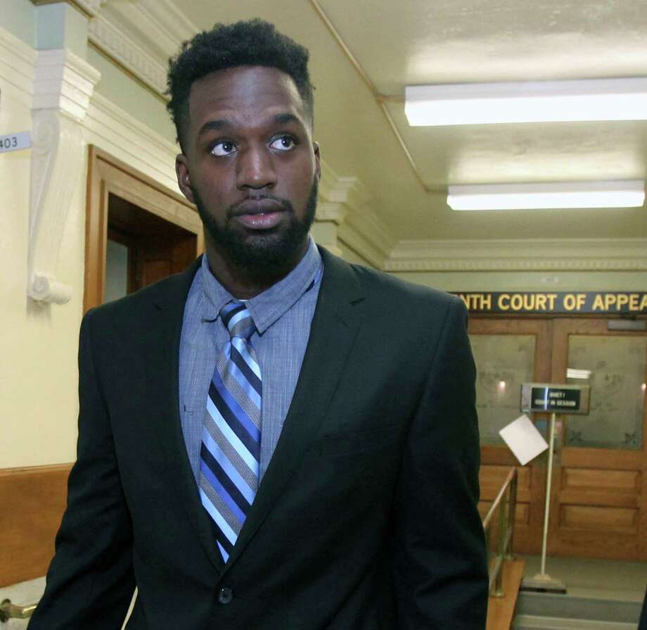 Former Baylor football player Sam Ukwuachu's sexual assault conviction was reinstated Wednesday afteran appeals court had overturned the conviction whose case helped give rise to the sexual assault scandal that engulfed the nation's largest Baptist school. Photo: Jerry Larson, MBO / Waco Tribune-Herald