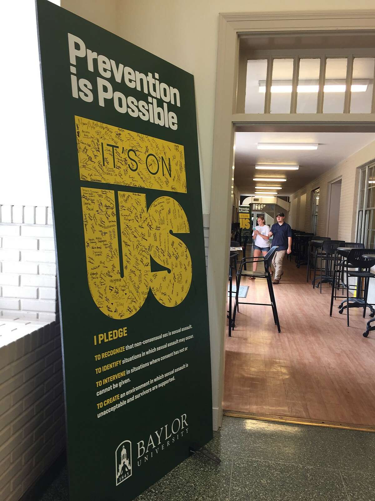 Students have met Baylor University's attempts to address rape on campus with mixed reaction, ranging from an embrace of self-accountability to frustration the university is shirking responsibility onto its students. Andrea Zelinsk/Houston Chronicle