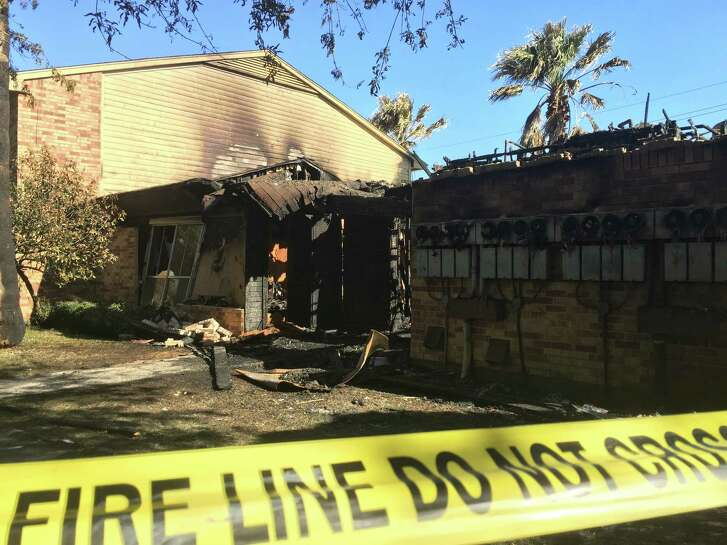 Several families were displaced and the laundry room was destroyed in a fire about about 4 a.m. Tuesday, March 21, at Crosby Plaza Apartments.