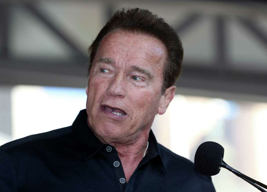 Actor and former California governor Arnold Schwarzenegger will give receive an honorary degree from UH when he delivers his commencement speech on May 12. Photo: Robert Cianflone, Staff / 2017 Getty Images