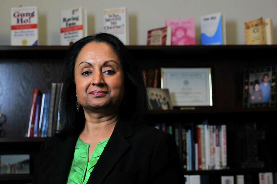 Sowmya Kumar defended HISD's special education rate - 7.3 percent - saying that labeling students as 'special eduction' is harmful. 'Special education does not deliver outcomes for kids.' Photo: Karen Warren, Staff / © 2012 Houston Chronicle