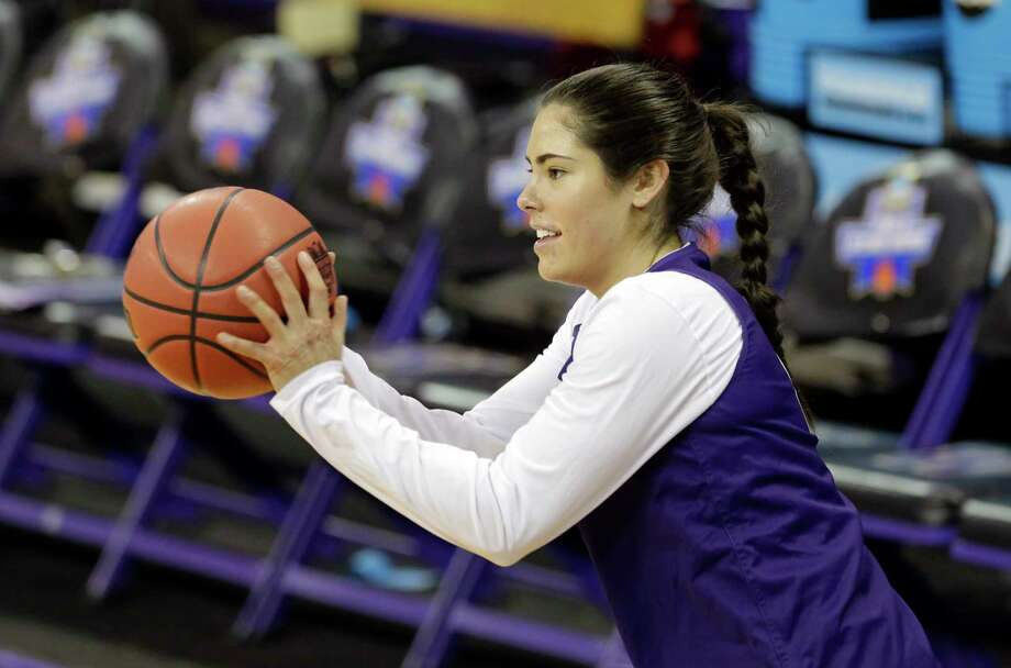 Washington's Kelsey Plum is averaging 31.8 points per game this season with a high game of 57. She shoots 53 percent from the field overall and leads the Huskies with 4.8 assists per game. Photo: Elaine Thompson, STF / AP