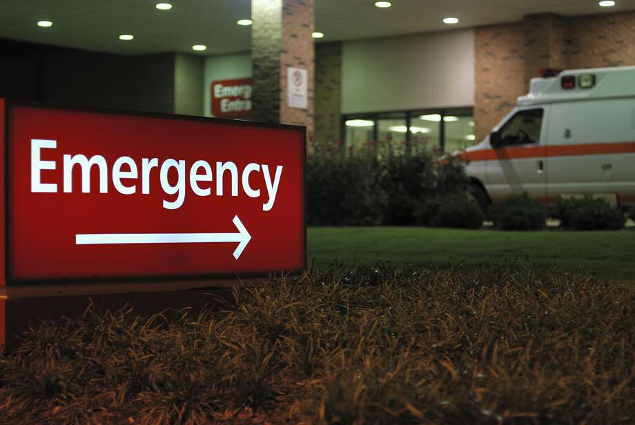 An emergency room entrance is seen in a file photo. Photo: Getty Images