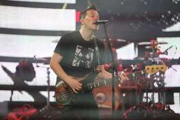 Blink 182 performs at the Houston Livestock Show and Rodeo at NRG Stadium on Thursday, March 23, 2017, in Houston.