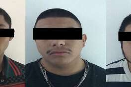 These are the three men recently arrested in Nuevo Laredo, Mexico, for allegedly kidnapping a man, according to Tamaulipas authorities.