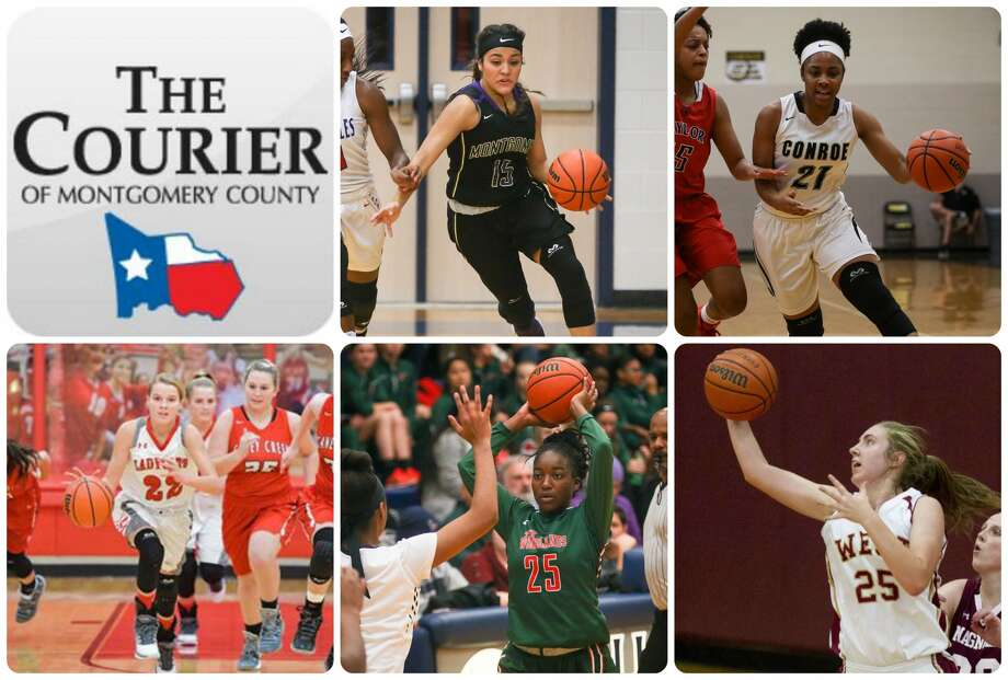Montgomery's Trinity Oliver, Conroe's Alexia Mason, Splendora's Shelby Keck, The Woodlands' Miima Mpagi and Magnolia West's Kendall May are The Courier's nominees for All-Montgomery County Newcomer of the Year.
