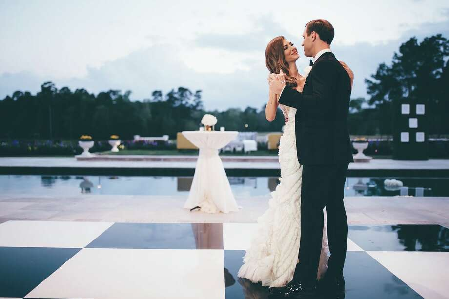 ?Image: AshLee Frazier and her husband Aaron Williams on their wedding day