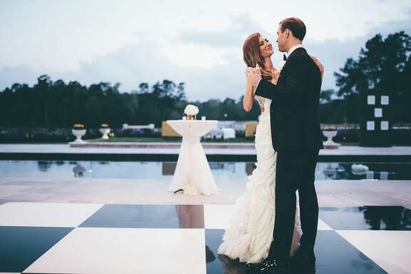 Houston native and former Bachelor contestant, AshLee Frazier married long-time friend Aaron Williams on March 18 at his parent's estate home overlooking a private 10 acre lake in Conroe.