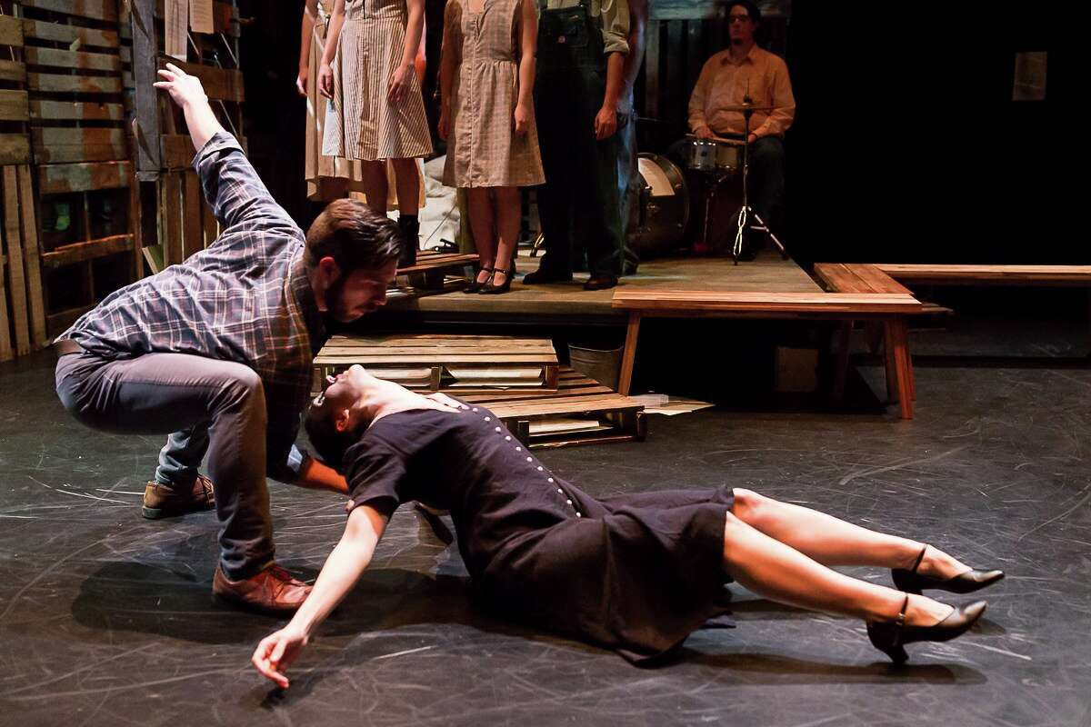 """A scene from Open Dance Project's """"'Bout a Stranger."""""""