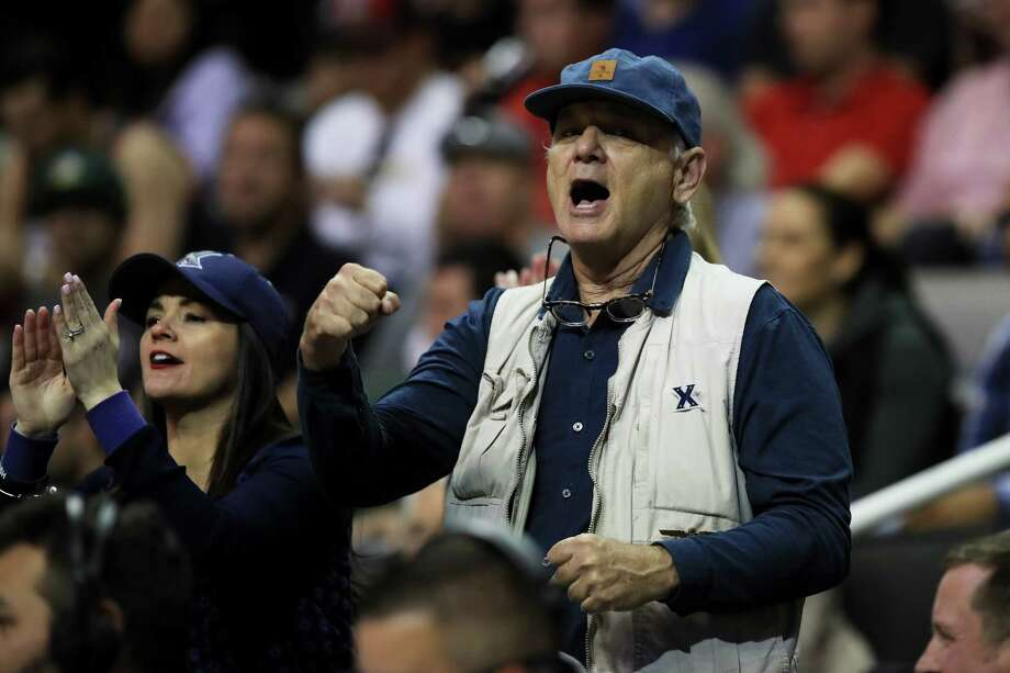 SAN JOSE, CA - MARCH 23:  Actor Bill Murray attends the game between the Arizona Wildcats and the Xavier Musketeers during the 2017 NCAA Men's Basketball Tournament West Regional at SAP Center on March 23, 2017 in San Jose, California.  (Photo by Ezra Shaw/Getty Images) Photo: Ezra Shaw / 2017 Getty Images