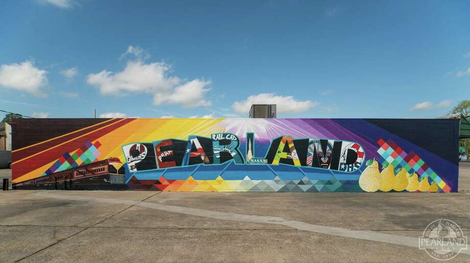 Pearland has a hot new photo spot - a mural at The Sugared Pear Boutique, 3532 E. Broadway.SLIDESHOW: Houston's favorite street art Photo: City Of Pearland