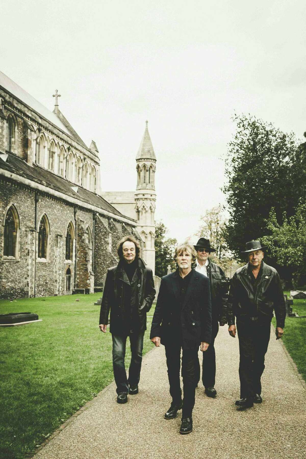 Left to right (original four members): Colin Blunstone (vocals); Rod Argent (keyboards, vocals); Chris White (bass) and Hugh Grundy (drums).