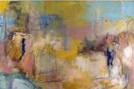 (Departures by Bruce Horan, Best in Show, Abstraction Exhibition 2016)