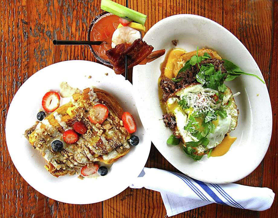 The brunch at Grayze is part of our baker's dozen of the best brunches in San Antonio. Click through the slideshows to see more. Photo: Mike Sutter, San Antonio Express-News