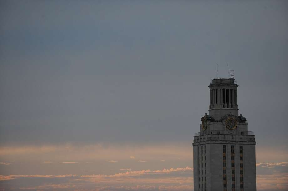 The University of Texas Tower on the University of Texas campus on September 19, 2009 in Austin, Texas. Photo: Photo By Ronald Martinez/Getty Images