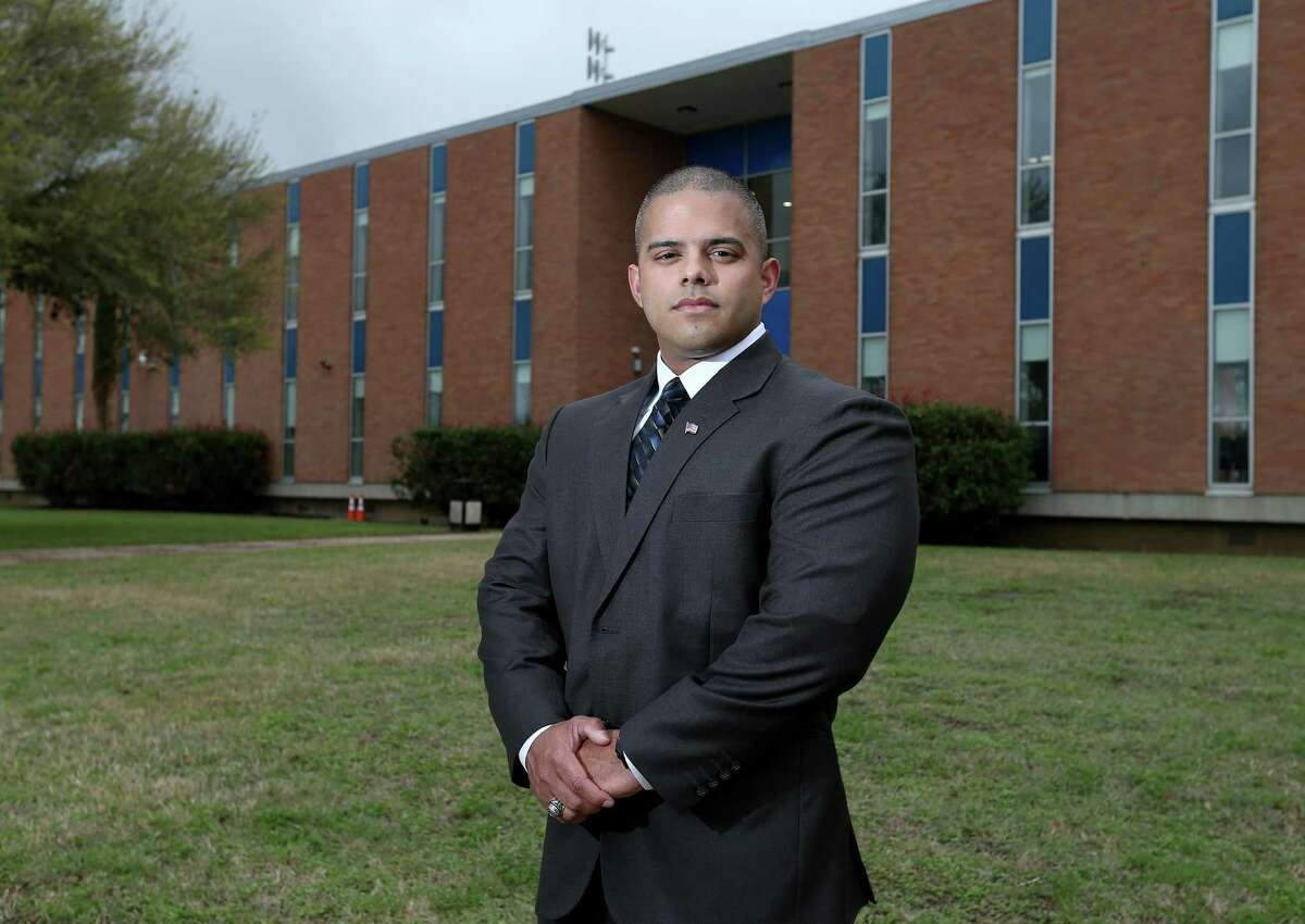 Edwin Davila said he chose the new University of the Incarnate Word School of Osteopathic Medicine, in part, because he wanted to stay in San Antonio for his education.