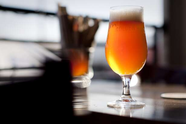 Hangar 24 mixed with GRB Valentin is a popular special at the fast growing Golden Road Brewery in Los Angeles. (Photo by Gina Ferazzi/Los Angeles Times via Getty Images)