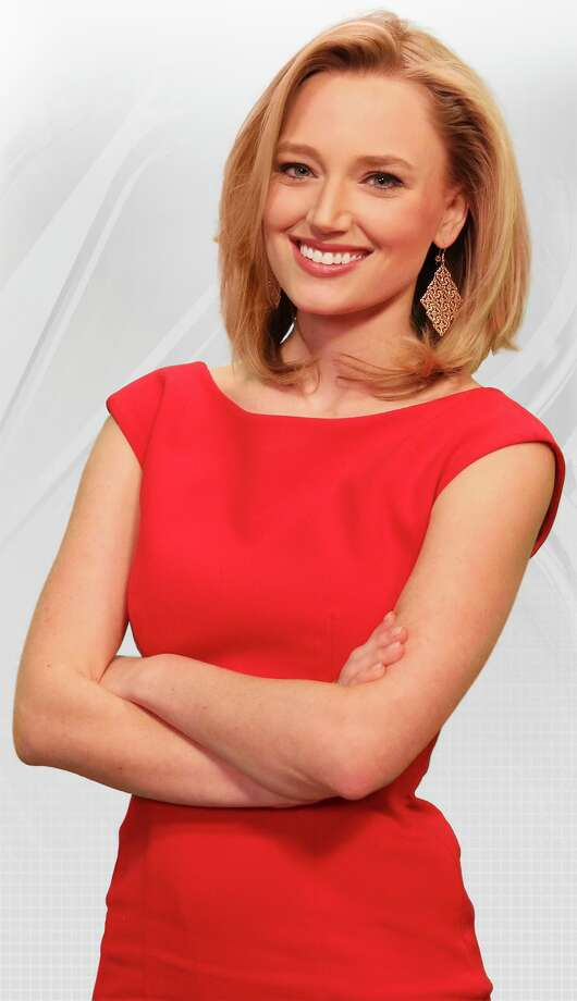 Clark High graduate Sarah Spivey returns home to become a weather anchor on KSAT-TV Photo: Courtesy Of KSAT