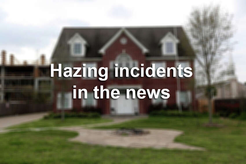 Hazing incidents in the news