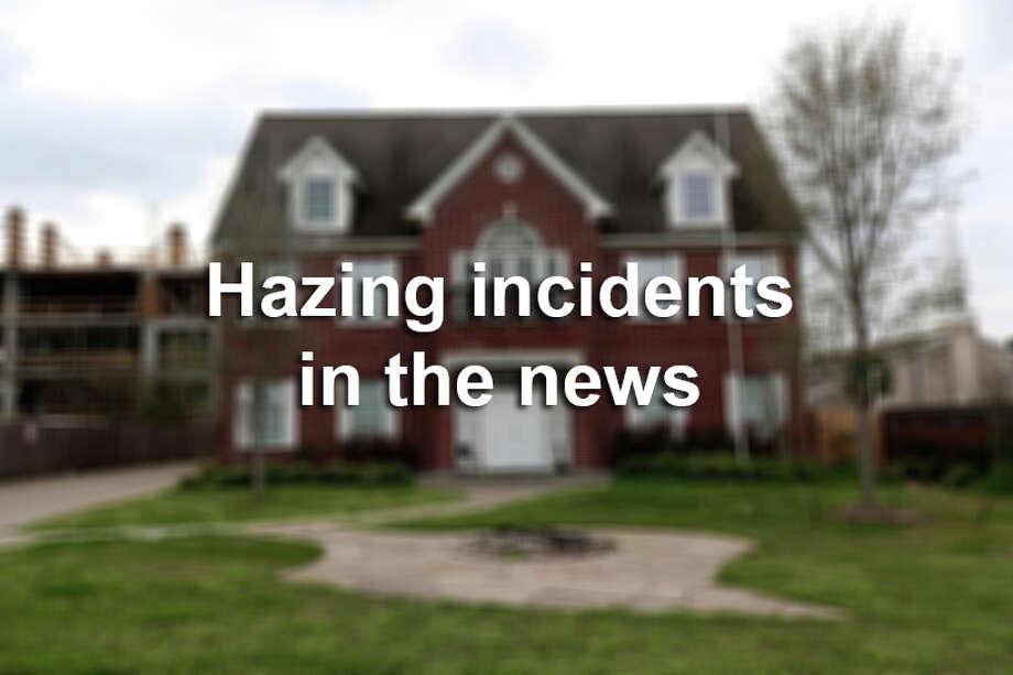 Hazing incidents in the news Photo: Gary Coronado/Houston Chronicle