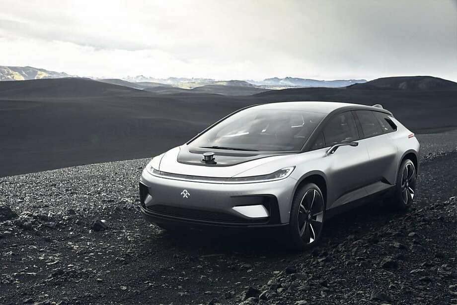 The Ff91 From Faraday Future Was Revealed At Consumer Electronics Show In Las Vegas