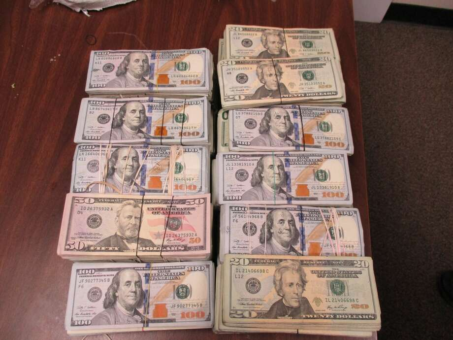 Border agents seized $160,000 in unreported currency March 21, 2017 at the Hidalgo International Bridge in South Texas. Photo: U.S. Customs And Border Protection